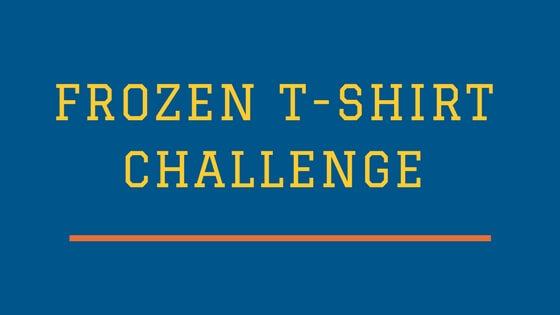 Frozen-T-shirt-challenge