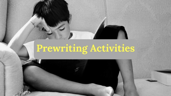 prewriting-activities, Prewriting Activities