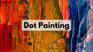 dot-painting