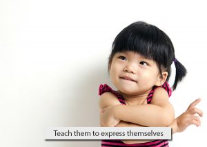 Teach-them-to-express-themselves