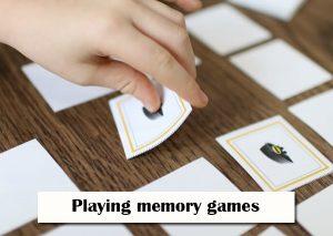 Playing-memory-games