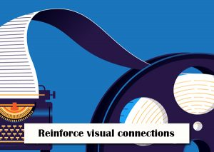 Reinforce-visual-connections