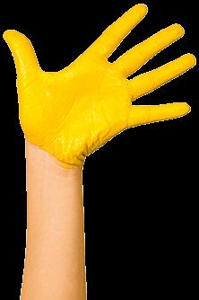 cambridge montessori global hand yellow