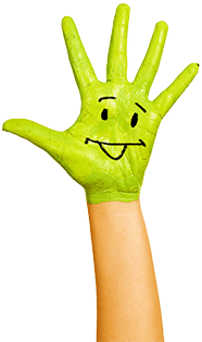 cambridge montessori global hand green
