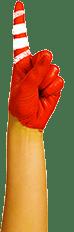 cambridge montessori global hand red and white